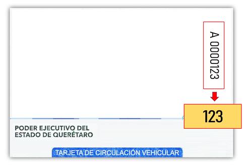 Recibo - Placa